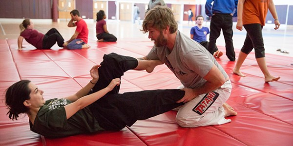 Women's Self-Defense Class Boosts Student Confidence