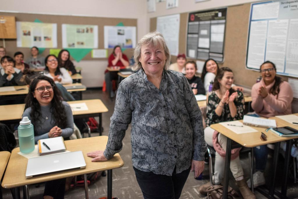 Cindy Ratekin, the University's 2018-19 Outstanding Academic Advisor