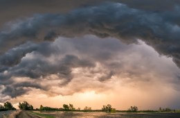 """Golden Center of a Supercell"" by Owen Bettis"