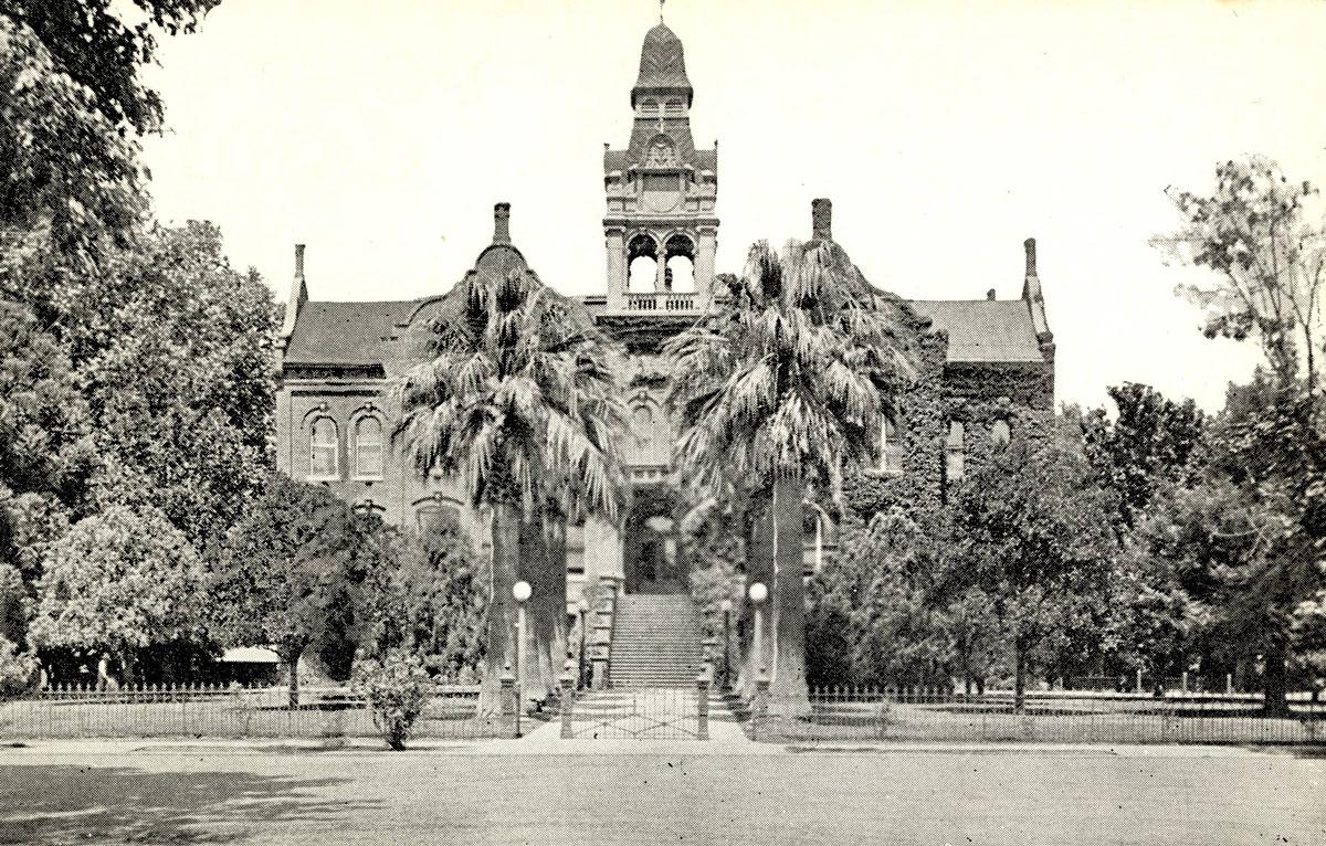 Chico Normal School. Photo courtesy of Meriam Library.