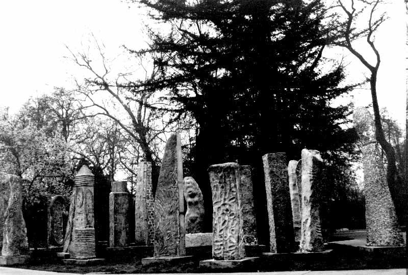 Monolith Sculptures by Ayres Hall. (Photo Courtesy of Deborah Masters.)