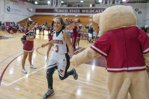 Chico State women's basketball player Whitney Branham hasn't let spina bifida hold her back, as she has emerged as the Wildcats' leader.