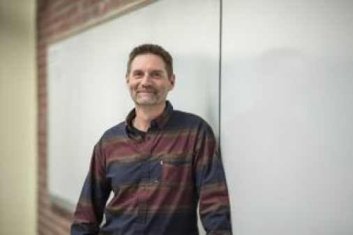 """""""My teaching philosophy is to provide my students with opportunities to better themselves inside and outside the classroom,"""" said Alan Bond, College of Engineering, Construction and Computer Science, this year's recipient of CSU, Chico's Outstanding Lecturer Award."""