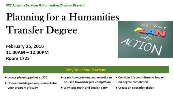 humanities flier copy
