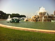 Buckingham Fountain in Grant Park :)