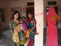 Friends in Vali village