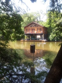 A cabin on Lake Austin