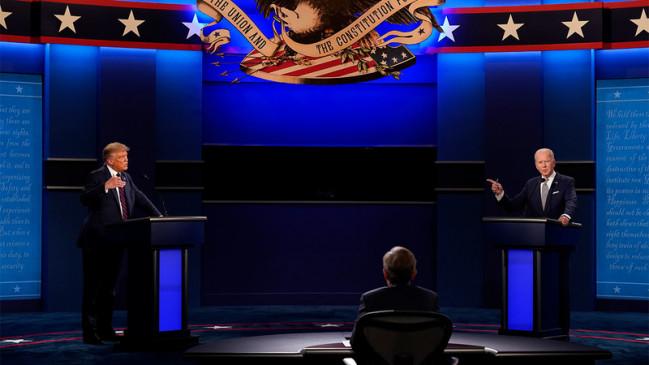 Trump accuses other nations in final presidential debate