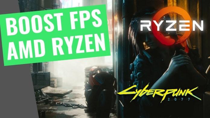 AMD Ryzen processor solves lags in Cyberpunk 2077