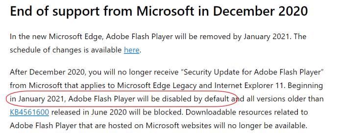 Microsoft's upcoming mandatory update will disable Flash on Windows 10