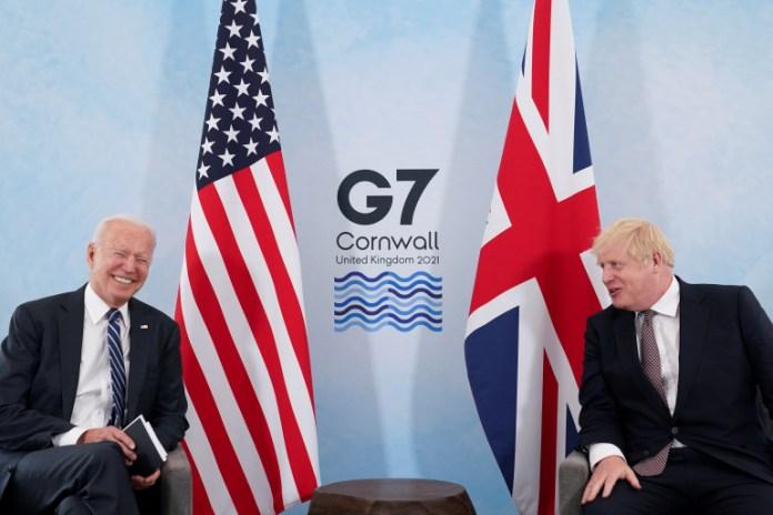 UK PM Boris Johnson Announces to Donate 100 Million COVID-19 Vaccine Doses