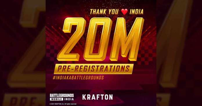 Battlegrounds Mobile India Crosses 5 Million Downloads in Early Access, Krafton Rewards Gamers
