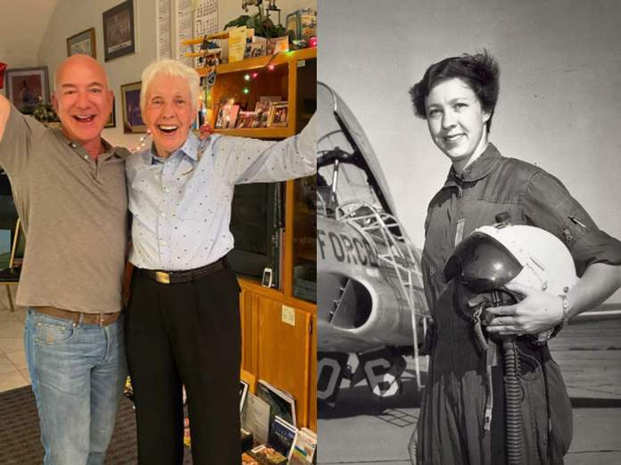 Jeff Bezos to Include an 82-year-old Woman in his Crewed Spaceship, Reveals her Identity