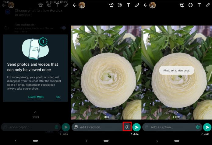 WhatsApp Introduces a New Disappearing Photos and Videos Feature, Know More About it