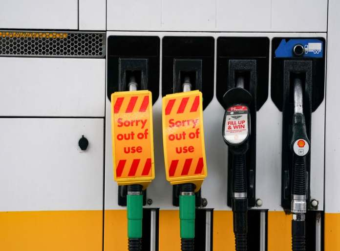 The British Army to Drive Tankers as the Fuel Shortage in the UK Continues to Rise