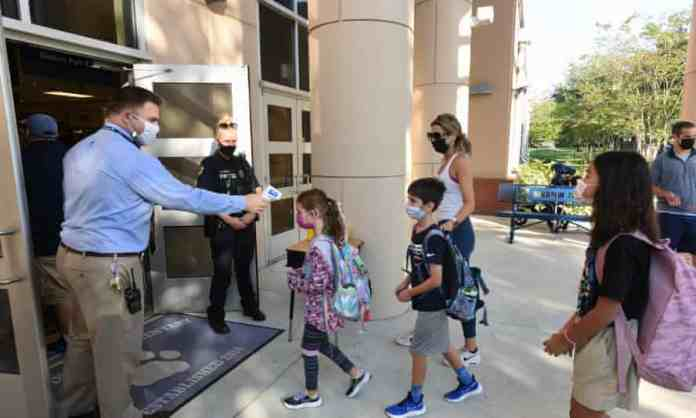 COVID-19 Cases in Children Rising in the US as they Head Back to School