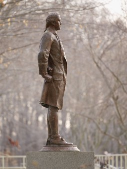 Nathan Hale Statue at CIA headquarters in Langley, VA.