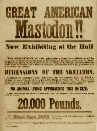 Great American Mastodon