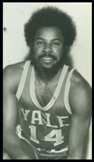 Future Congressman Gary Franks as Yale basketball player