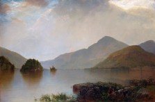 """John Frederick Kensett, """"Lake George,"""" 1869 (Metropolitan Museum of Art)"""
