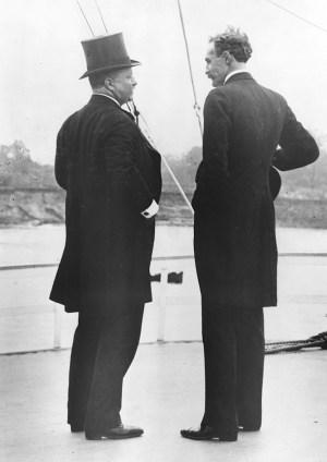 Theodore Rossevelt and Gifford Pinchot