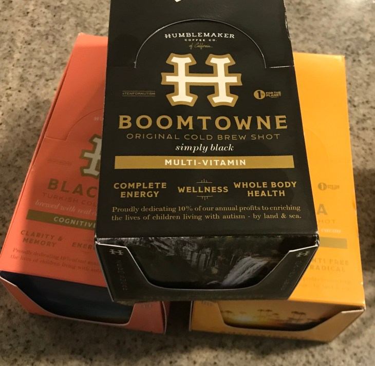 Humblemaker Cold Brew Coffee Shots 8 packs