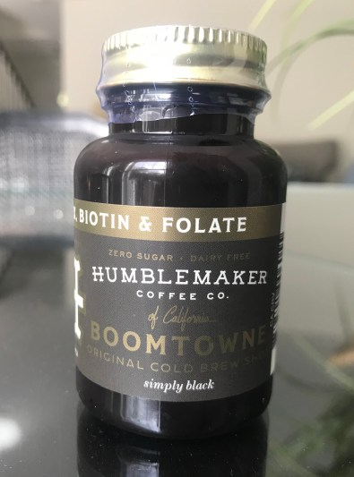 Humblemaker Cold Brew Coffee Shot Boomtowne