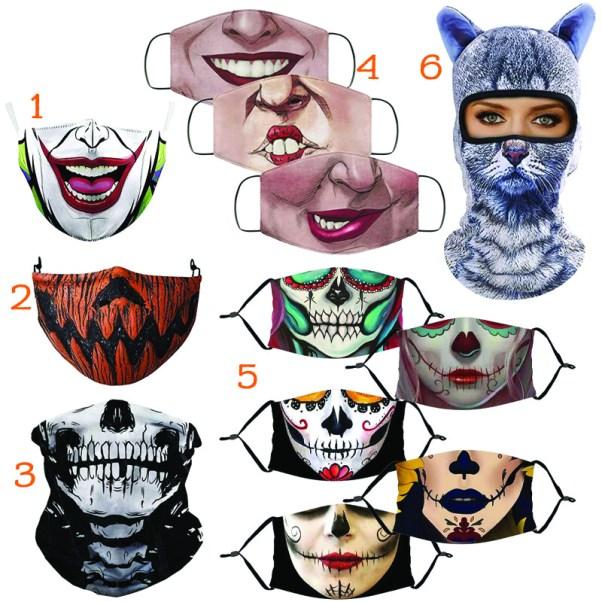 Halloween Face Mask Costume