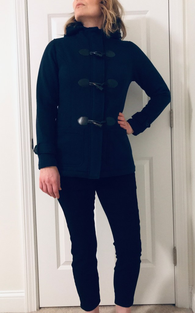 Stitch Fix Unboxing with Pictures - Market & Spruce Emory Toggle Fleece Jacket