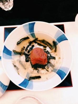 Rice dish at Kigawa
