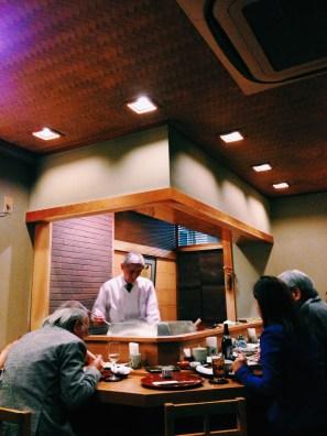 Chef Nagai at Tenshige