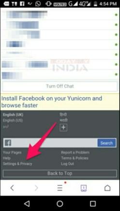 Facebook Account Deactivate या Delete कैसे करे। 1