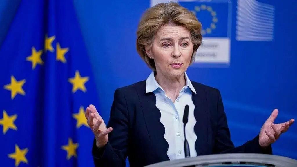 European Commission President Ursula von der Leyen. Photo: Kenzo Tribouillard/AFP via Getty Images