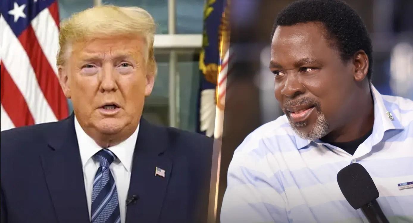 Trump and TB Joshua