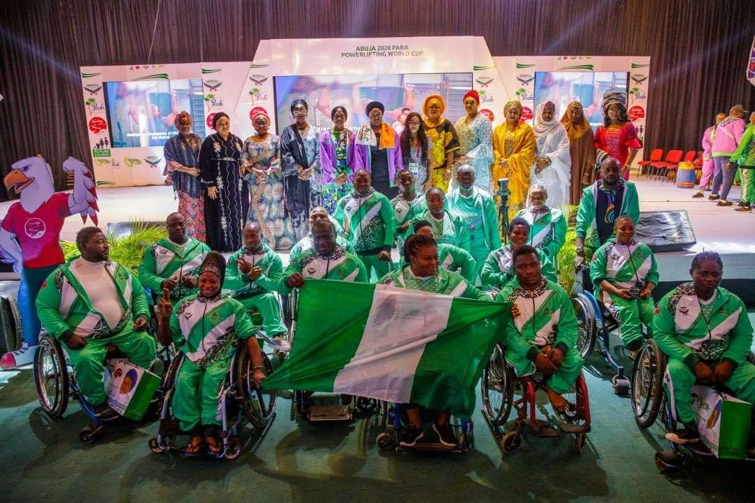 Nigeria First Lady Aisha Buhari opens Abuja 2020 Para Powerlifting World Cup|Nigeria First Lady Aisha Buhari opens Abuja 2020 Para Powerlifting World Cup|Nigeria First Lady Aisha Buhari opens Abuja 2020 Para Powerlifting World Cup||