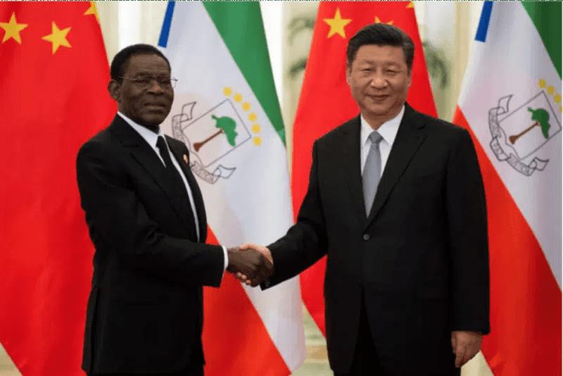 Equatorial Guinea and China Presidents