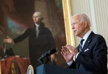 President Joe Biden delivers remarks about the COVID-19 response and vaccination program, Wednesday, August 18, 2021, in the East Room of the White House. (Official White House Photo by Erin Scott)