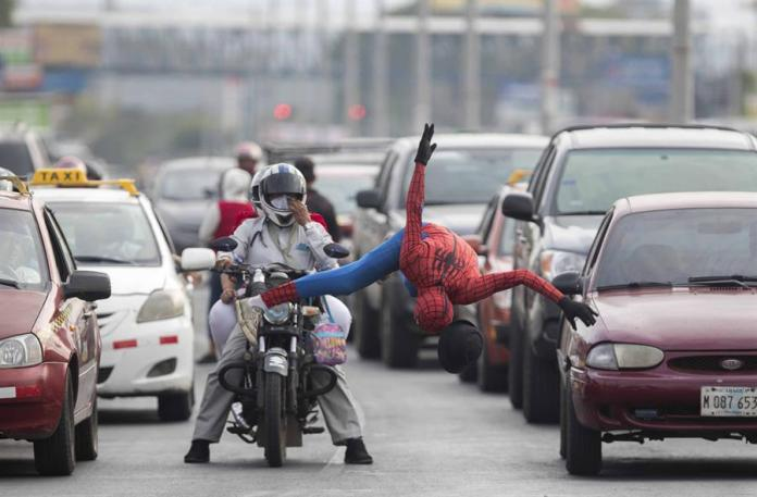 Spiderman and the Army of Underemployed Hurt by Covid-19 in Nicaragua