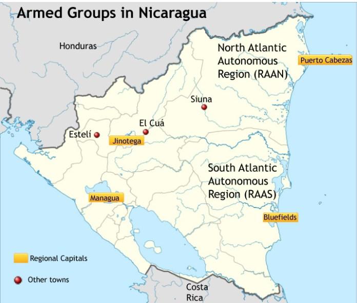 Bishop Reignites Debate Over Nicaragua's Armed Groups