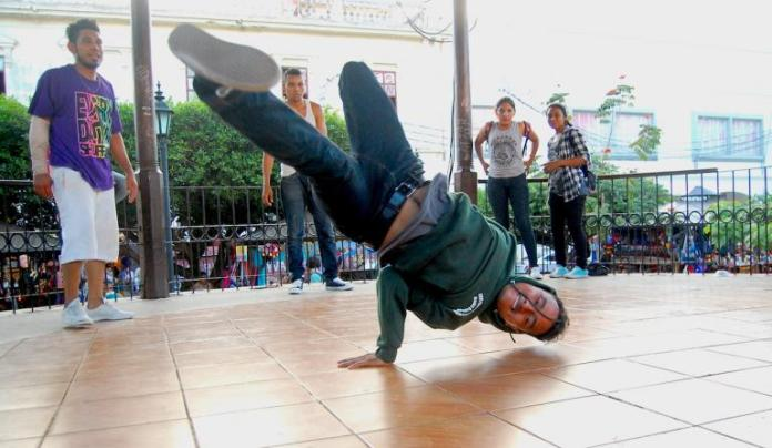 B-boy Clay, 24, is a medical student. Rebecca BlandonGlobalPost