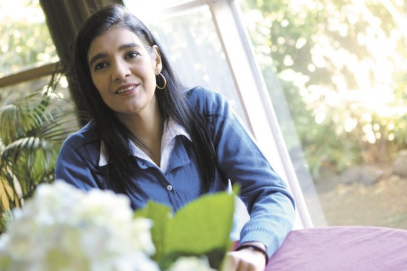 """Zoilamérica Ortega Murillo, daughter of Rosario Murillo, first lady of Nicaragua and stepdaughter of President Daniel Ortega. Zoilamérica, who in 1998, denounced alleged sexual abuse by her stepfather, decided to live in Costa Rica after the case was """"closed"""". Photo from La Prensa, Nicaragua"""