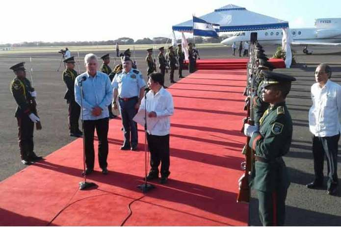 Nicaragua Can Always Count on Cuba, Miguel Diaz-Canel Says