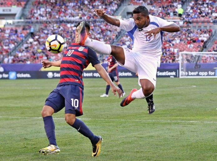 Nicargua Loses 3-0 To USA In Gold Cup