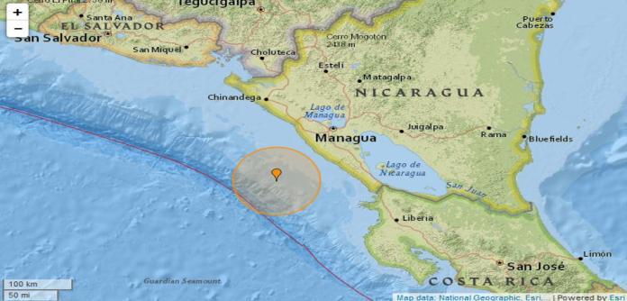5.0 Quake Hits Masachapa, Nicaragua