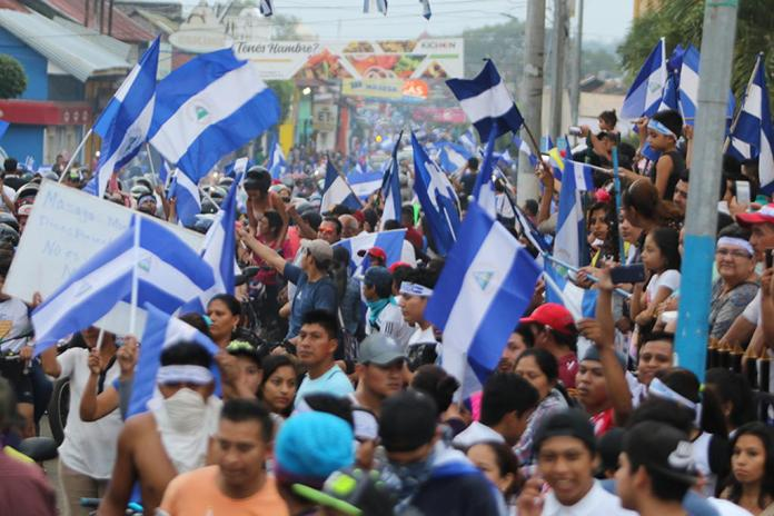 The Violence Continues: Protesters in Urge Justice for Dead, Ortega's Resignation
