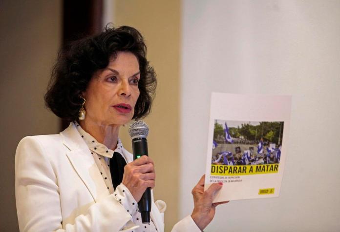 Ortega waging dirty war in Nicaragua: Bianca Jagger
