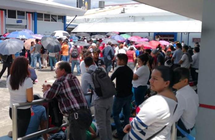 Many Nicaraguans Seek To Flee The Country
