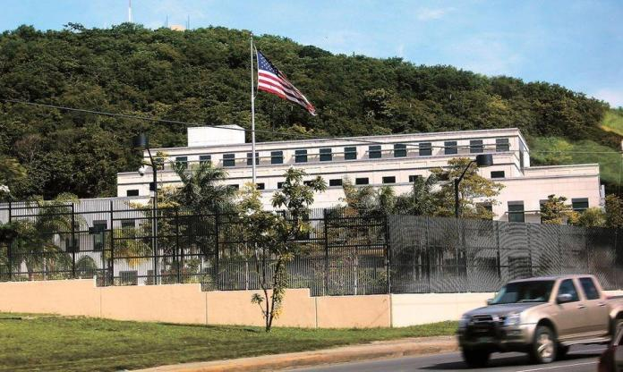 US Embassy prohibits its officials and temporary visitors from leaving Managua for 72 hours