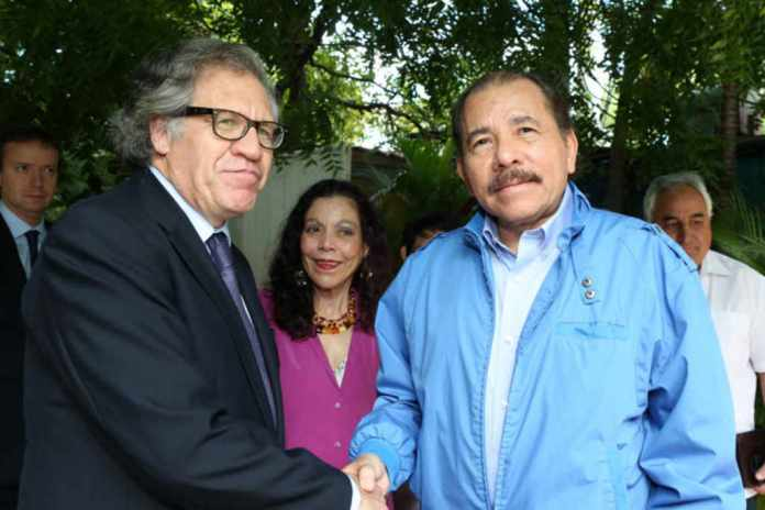 OAS will give Ortega a chance to negotiate a way out of the crisis