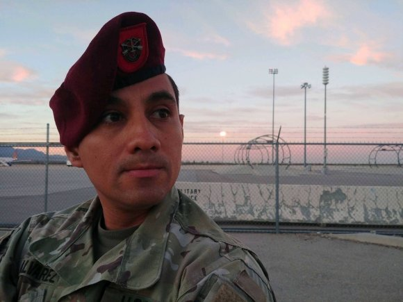 From Nicaraguan refugee to US Soldier